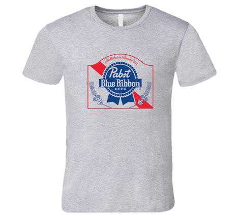 pabst blue ribbon t shirt