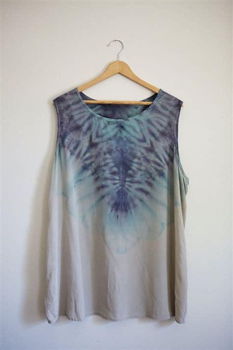Batik Shibori Top dyed shibori silk top 2xl batikov 225 n 237 oble芻en 237