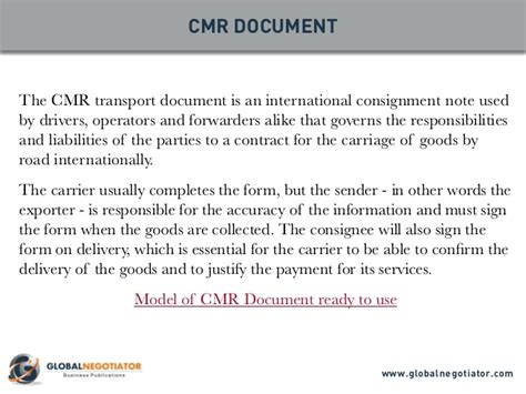 Letter Credit Multimodal Transport Document international trade documents 10 top documents