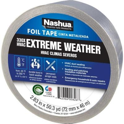 nashua 2 7 8 in x 50 yd weather hvac foil