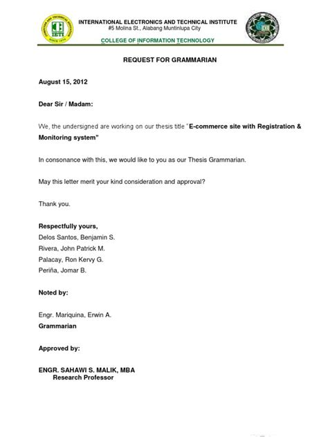 certification letter for grammarian letterfor grammarian and stat