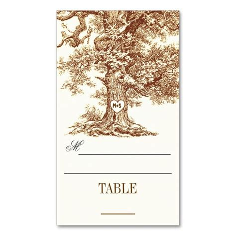 tree place card template 1000 images about tree business cards on