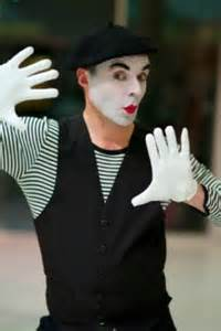 Halloween Entertainers - hire mime artist for events book mime artist mime artist performer