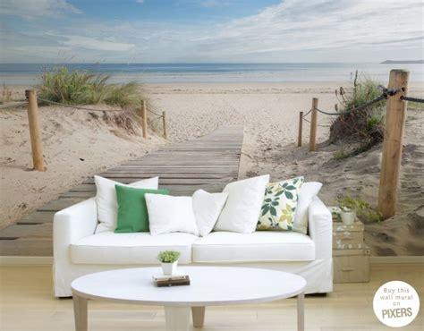 strand thema wohnzimmer die besten 17 ideen zu fototapete strand auf