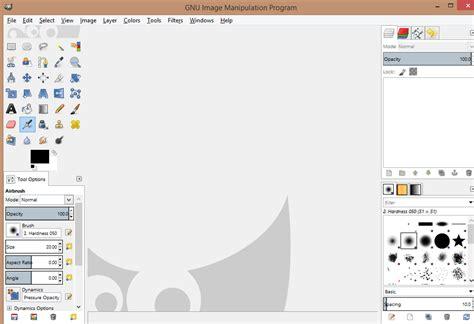 layout design gimp tech junkie blog gimp layout single window mode