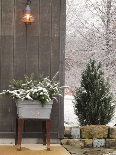 farmhouse winter farmhouse pinterest