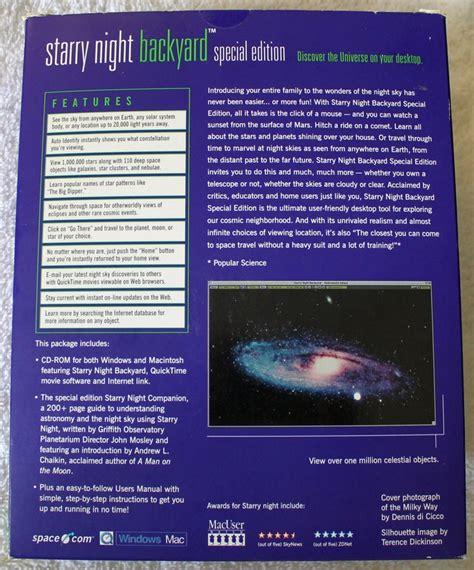 starry night backyard starry night backyard special edition