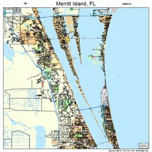 merritt island florida map 1244275