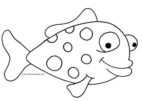 coloring page of small fish rainbow fish outline gallery for gt rainbow cartoon