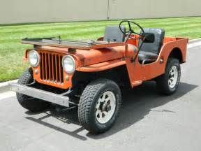 1948 Willys Jeep For Sale 1948 Jeep Willys Cj 3 2 2l For Sale Photos Technical