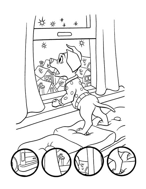 coloring page 102 dalmatians coloring pages 1