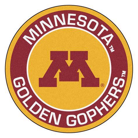 Yoga Rugs University Of Minnesota Golden Gophers Logo Roundel Mat