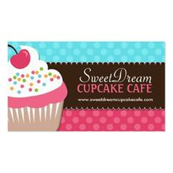 and whimsical cupcake bakery business cards zazzle
