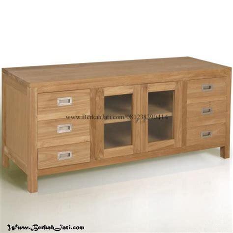Meja Tv Laci Duco Rak Tv Bufet Dresser Cabinet Meja Tamu Nakas bufet tv minimalis laci berkah jati furniture berkah jati furniture