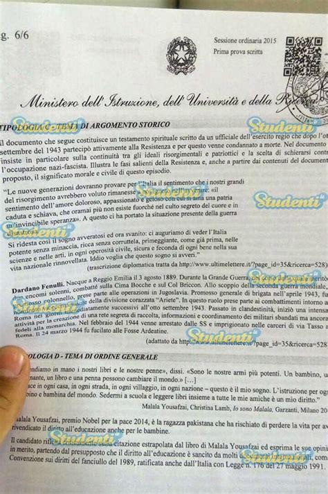 senza titoli testo maturit 224 2015 ecco le tracce della prima prova d italiano