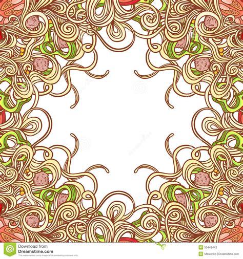 vector italian pasta pattern stock illustration vector italian pasta pattern stock illustration