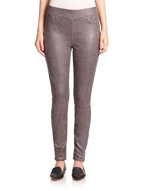 Legging Denim Denflow 7 jen7 coated comfort legging in gray lyst