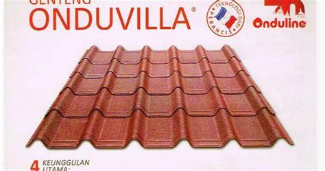 atap onduvilla murah harga atap bitumen onduvilla murah
