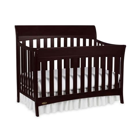 Graco Espresso Convertible Crib Graco Rory 5 In 1 Convertible Crib In Espresso 04540 469