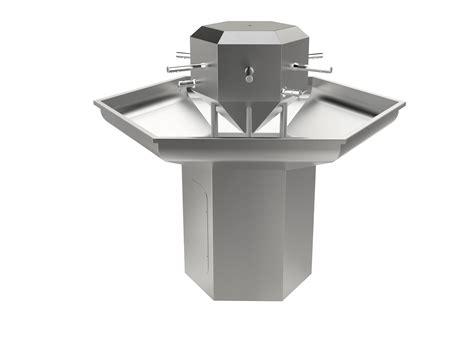 automatic wash sink island station wash sink uk manufacturer syspal uk