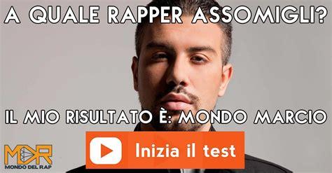 a quale rapper italiano assomigli il mio risultato 232