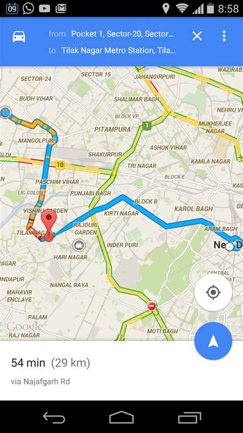 maps for android how to add destination on android map techvisionblog