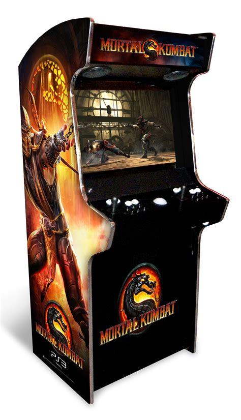 Mortal Kombat Cabinet project working guide to get arcade cabinet plans tankstick