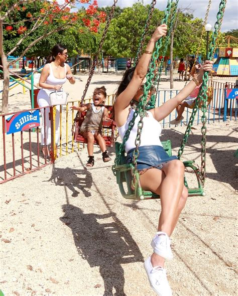 swinging vacations stress free swinging kardashian family vacations in cuba