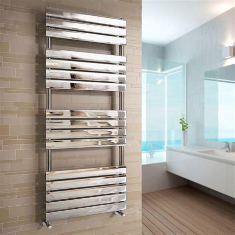 designer chrome 1600 x 600 flat panel heated bathroom