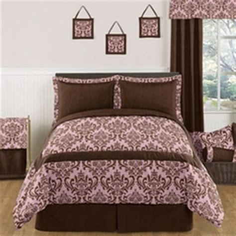 Brown And Pink Comforter by Pink And Brown Bedding For