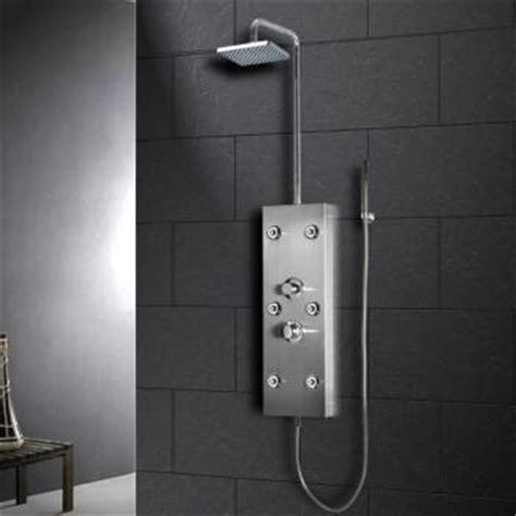 Sale Jet Shower Warna Beige shower panels akdy page 3 rainshowersdirect