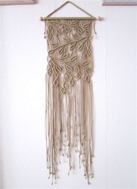 home interior wall hangings handmade macrame wall handing branches macrame home decor