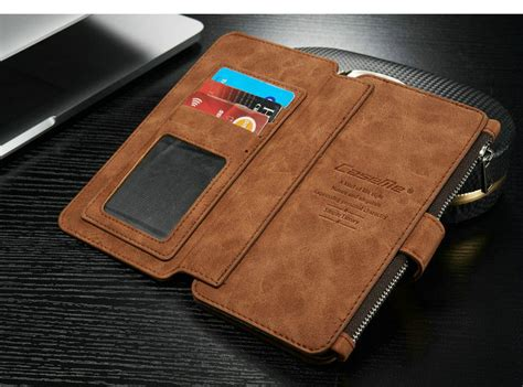 Samsung Note 5 Caseme Multifunction Zipper Leather Luxury Wallet icase mobile phone for samsung galaxy note 5 for