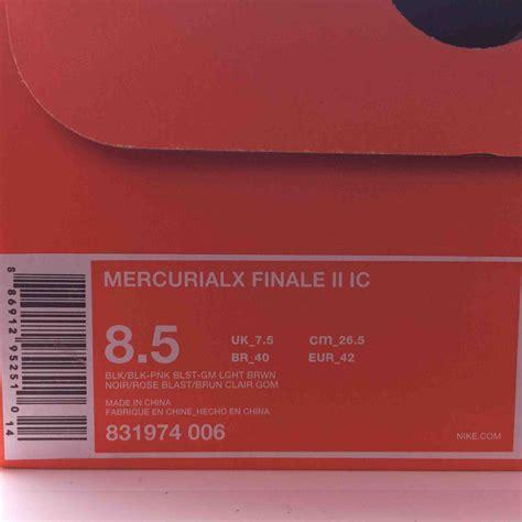 Harga Mercurial X Finale Ic jual sepatu futsal nike original mercurial x finale ii ic