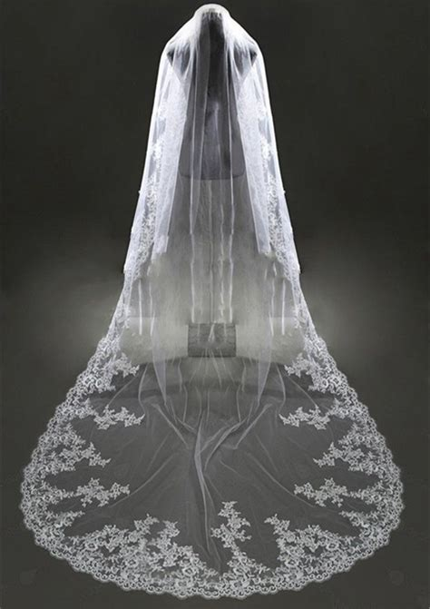 Handmade Bridal Veils - aliexpress buy bridal veils handmade applique edge