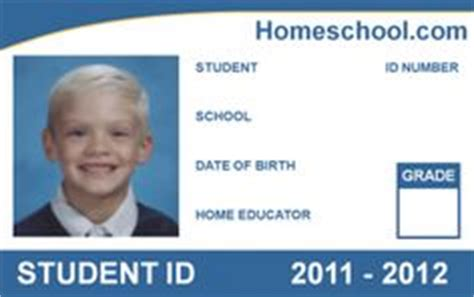 student id template 1000 images about work on homeschool cards