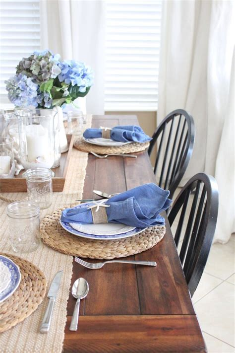 kitchen table setting ideas best 25 casual table settings ideas on table