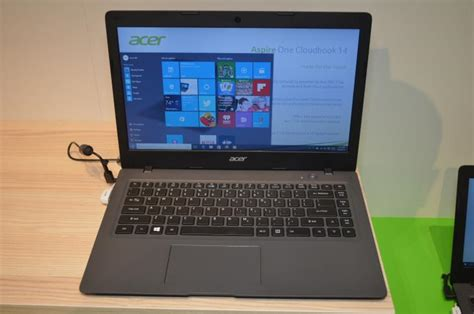 Notebook Acer One 200 acer aspire one cloudbook 14 quot ao1 431 c7f9 200 laptop intel celeron 2gb 64gb windows 10