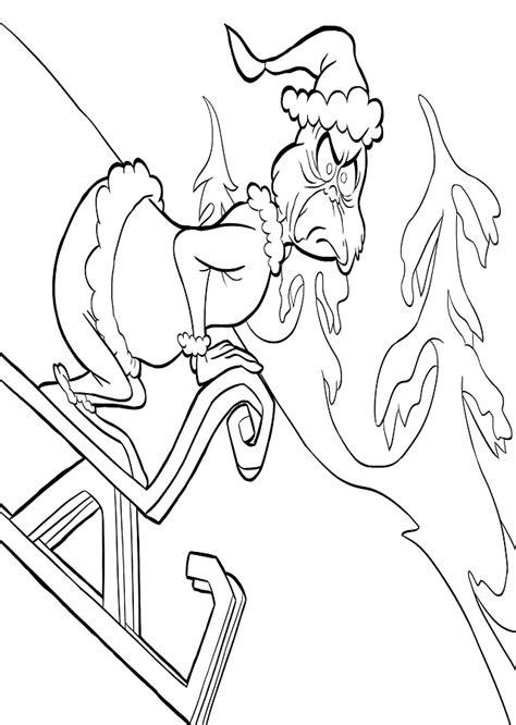 Dibujos para colorear el Grinch - Dibujosparacolorear.eu