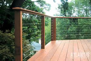cable handrail system raileasy cable railing photo gallery atlantis rail