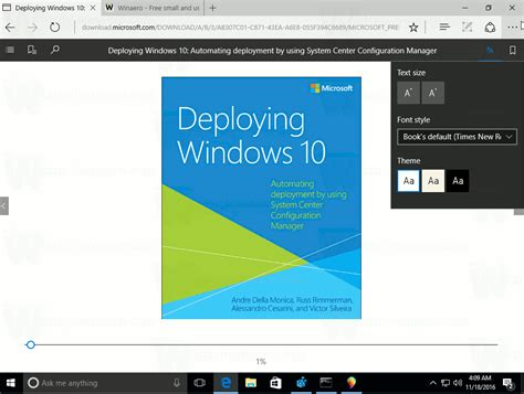 supporting windows 10 books edge gets epub support in windows 10 creators update