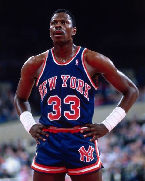 patrick ewing nba patrick ewing new york knicks unsigned 8x10 photo