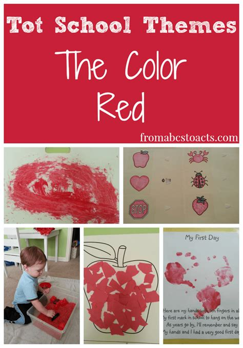red is the color of the day children s song red colors best of 2014 kids crafts and activities from abcs to acts