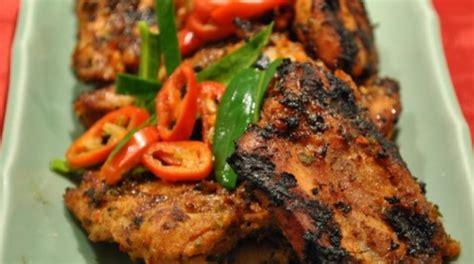 Ayam Bakar Khas Padang resep masakan ayam kecap pedas enak dan lezat resep masakan