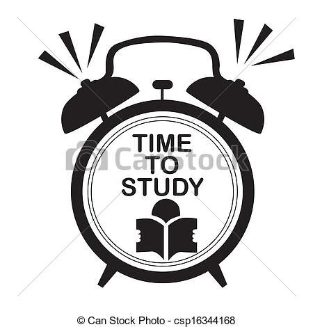 the modern clock a study of time keeping mechanism its construction regulation and repair classic reprint books clip vector of study clock a black silhouette of a