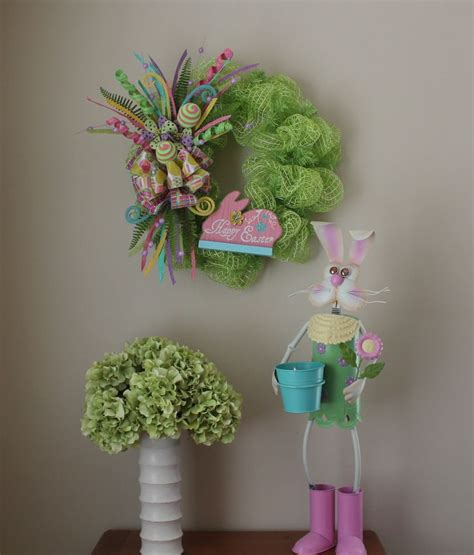 diy wreath 17 best images about diy mesh festive easter wreath on