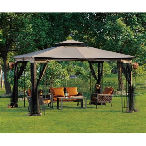 12 x 15 gazebo 10 x 12 gazebo canopy with mosquito netting