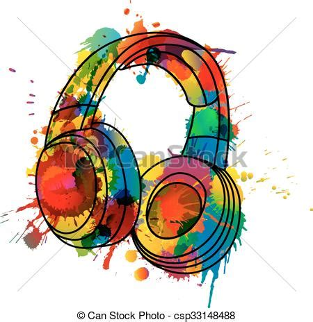 colorful headphones collection of 14 free headphone clipart colorful aztec