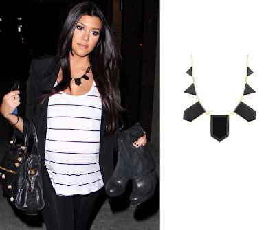 khloe kardashian coin necklace nicole richie news kourtney kardashian wears house of