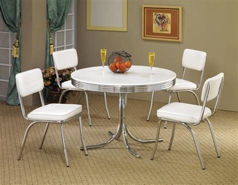 retro dining table and chairs pdf woodworking